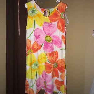 Jams World ponzi print dress coverup floral large